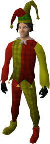Silly jester costume
