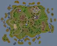 Tutorial Island (historical) map