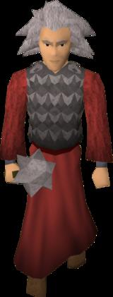 A chaos druid warrior.