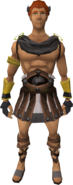 Colosseum outfit equipped (male)