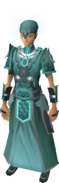 Iceheart armour equipped (female)