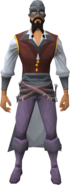 Swashbuckler outfit equipped (male)
