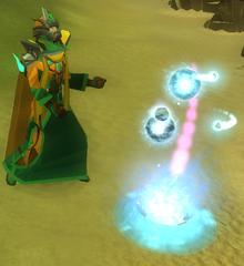 Jogador extraindo energia e memórias divinas.png