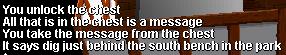 Chest key (Pirate's Treasure)