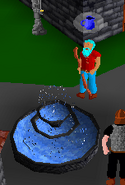 Filling jug water bubble