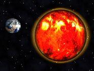 Earth and Sun 01