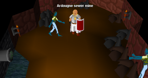 Ardougne sewer mine