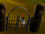 Gnome stronghold gate