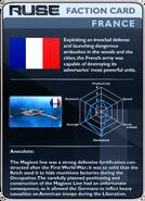 RUSE Card Faction France