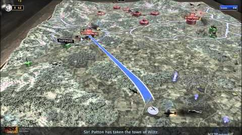 RUSE Mission 18 Blood 'N Guts Gameplay Hard (Wargamer) Difficulty (1 2)
