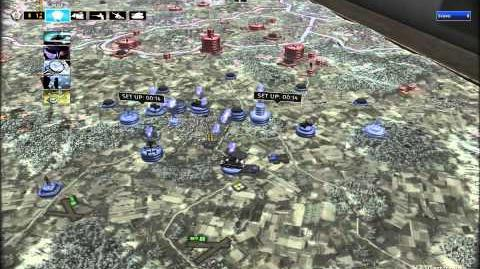 RUSE Mission 17 The Siege Of Bastogne Gameplay Hard (Wargamer) Difficulty (1 2)