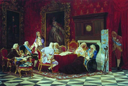 Ministers Cabinet of of Empress Anna Ivanovna