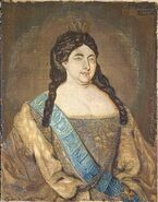 Anna Ioannovna silk-wool