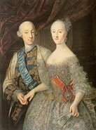 Peter III and Catherine II by Groоth