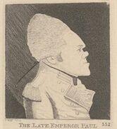 Pavel I English caricature