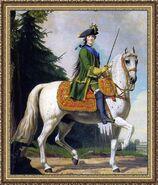 Catherine II of Russia by Vigilius Eriksen - Конный портрет Екатерины Великой. - 1762