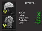 Combinaison anti-radiations