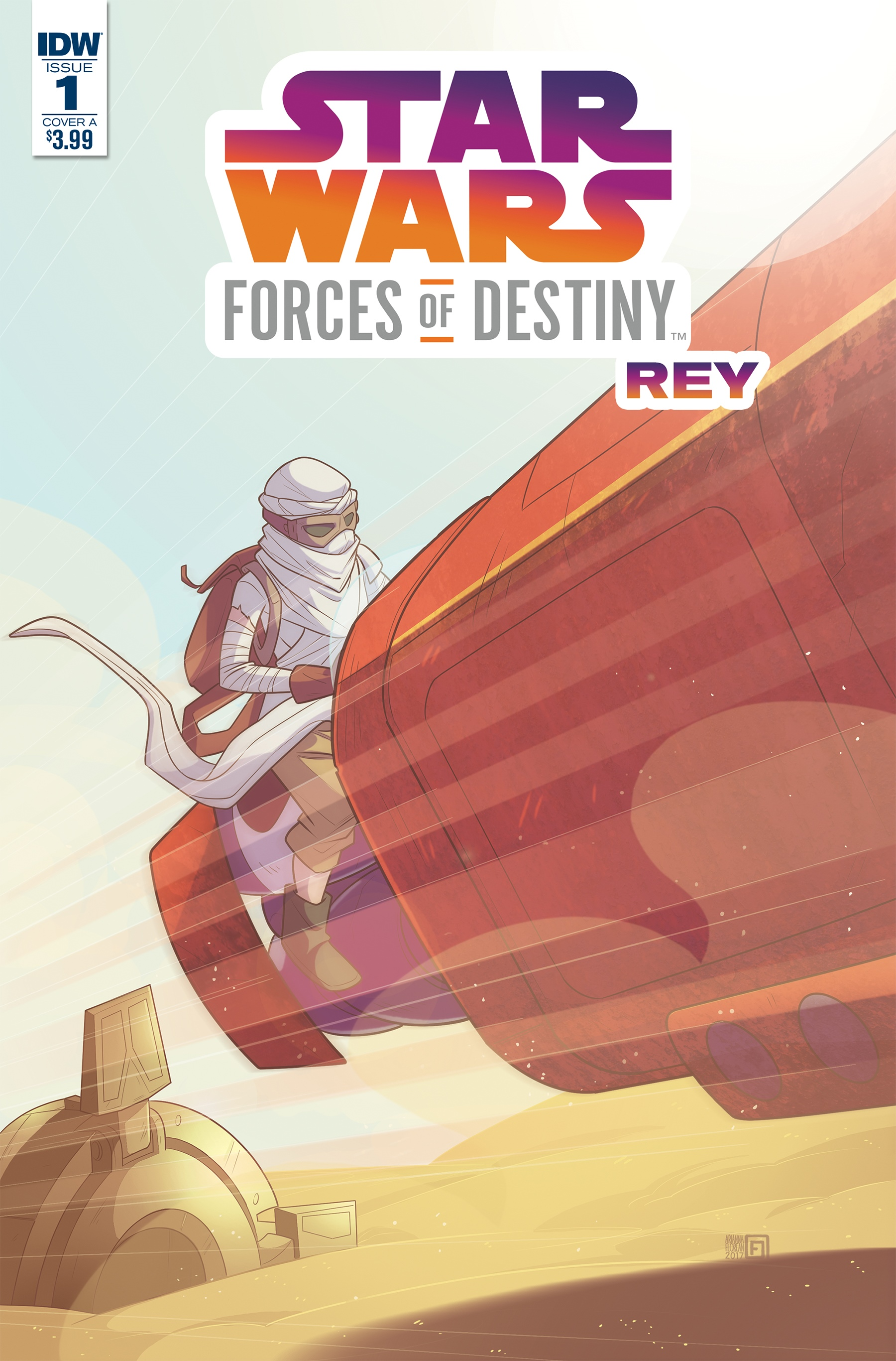 Звёздные войны. Приключения: Силы судьбы. Рей