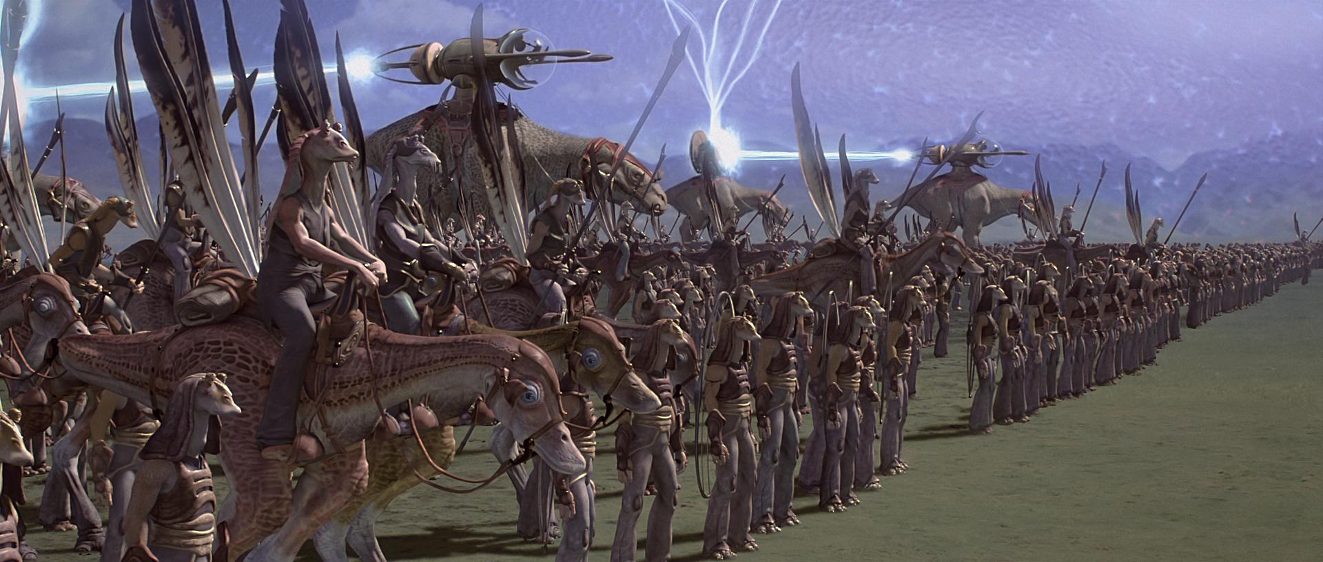 Великая армия гунганов