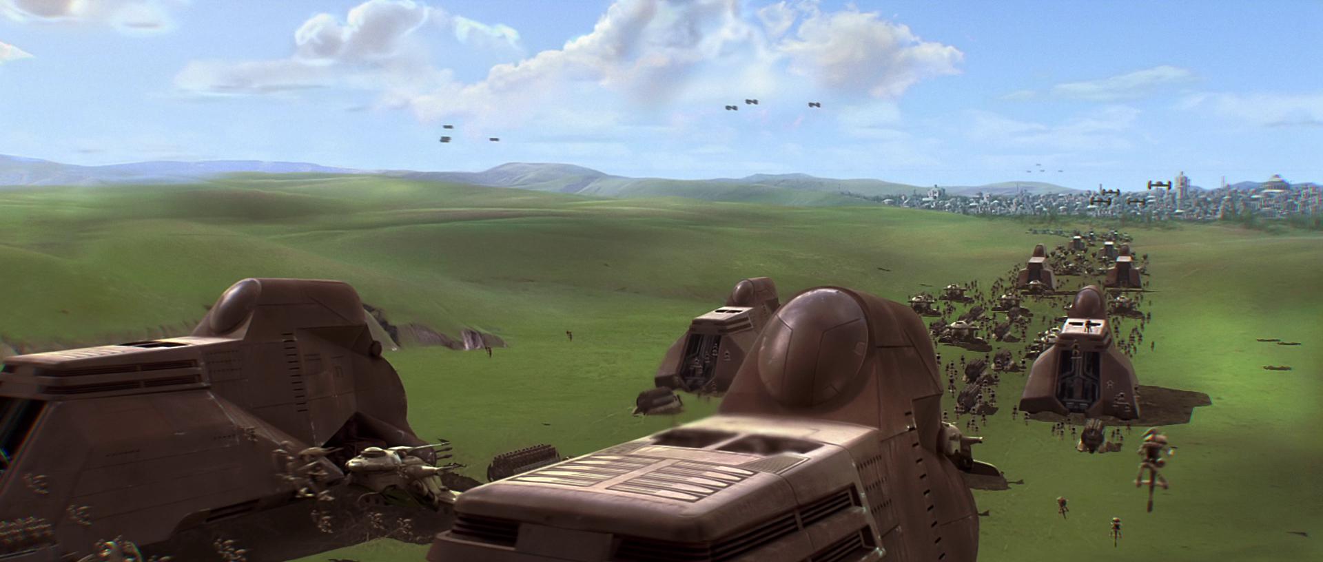 Армия дроидов Торговой федерации/Канон