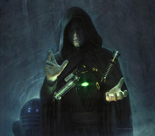Сборка светового меча