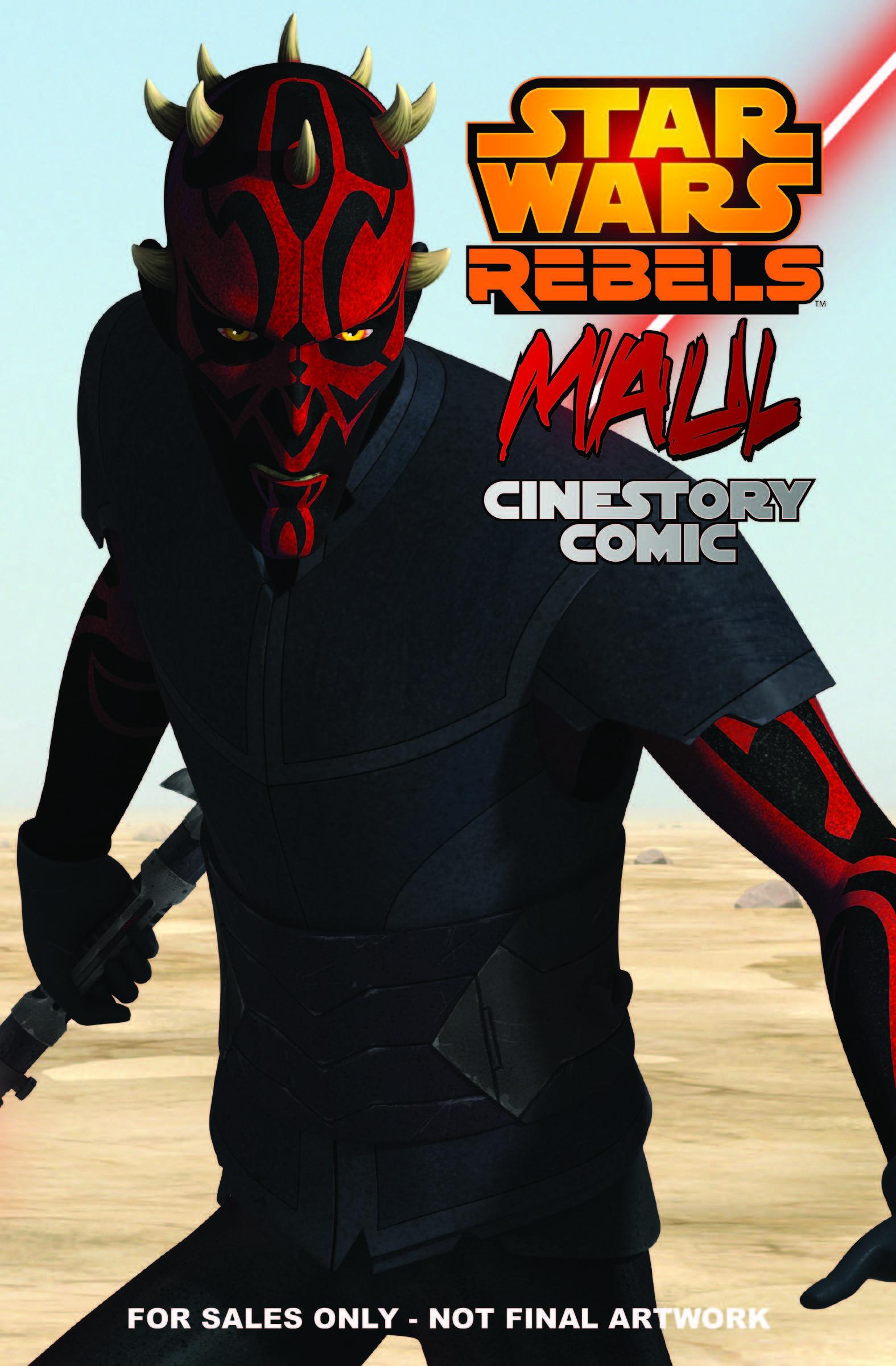 Мол. Кинокомикс «Звёздные войны: Повстанцы»