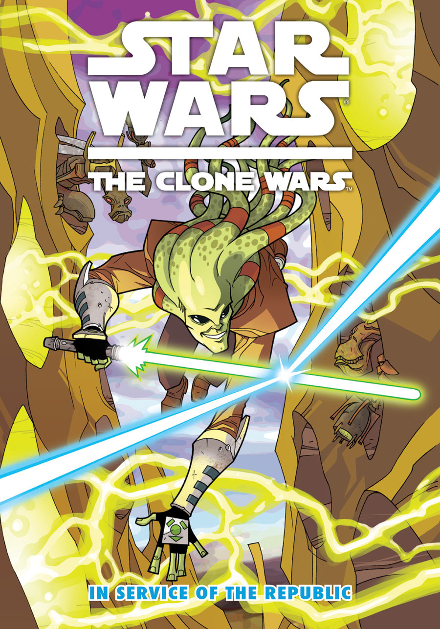 Звёздные войны. Войны клонов: На службе Республике (сборник)