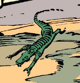 Дюнный ящер