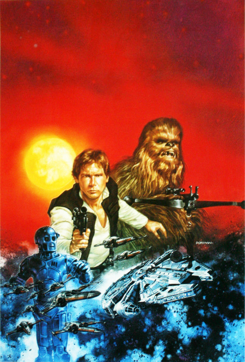 Han Solo at Stars' End art 1997.jpg
