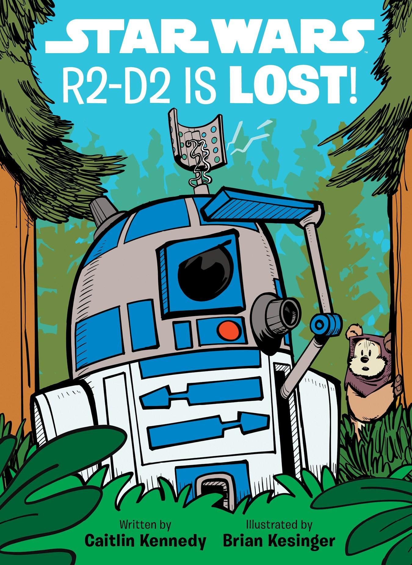 R2-D2 потерялся!
