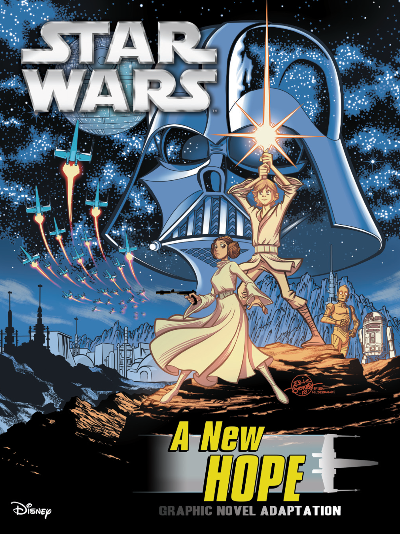 Звёздные войны. Новая надежда: Графический роман
