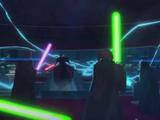 Люк против Императора Палпатина — Становление зла
