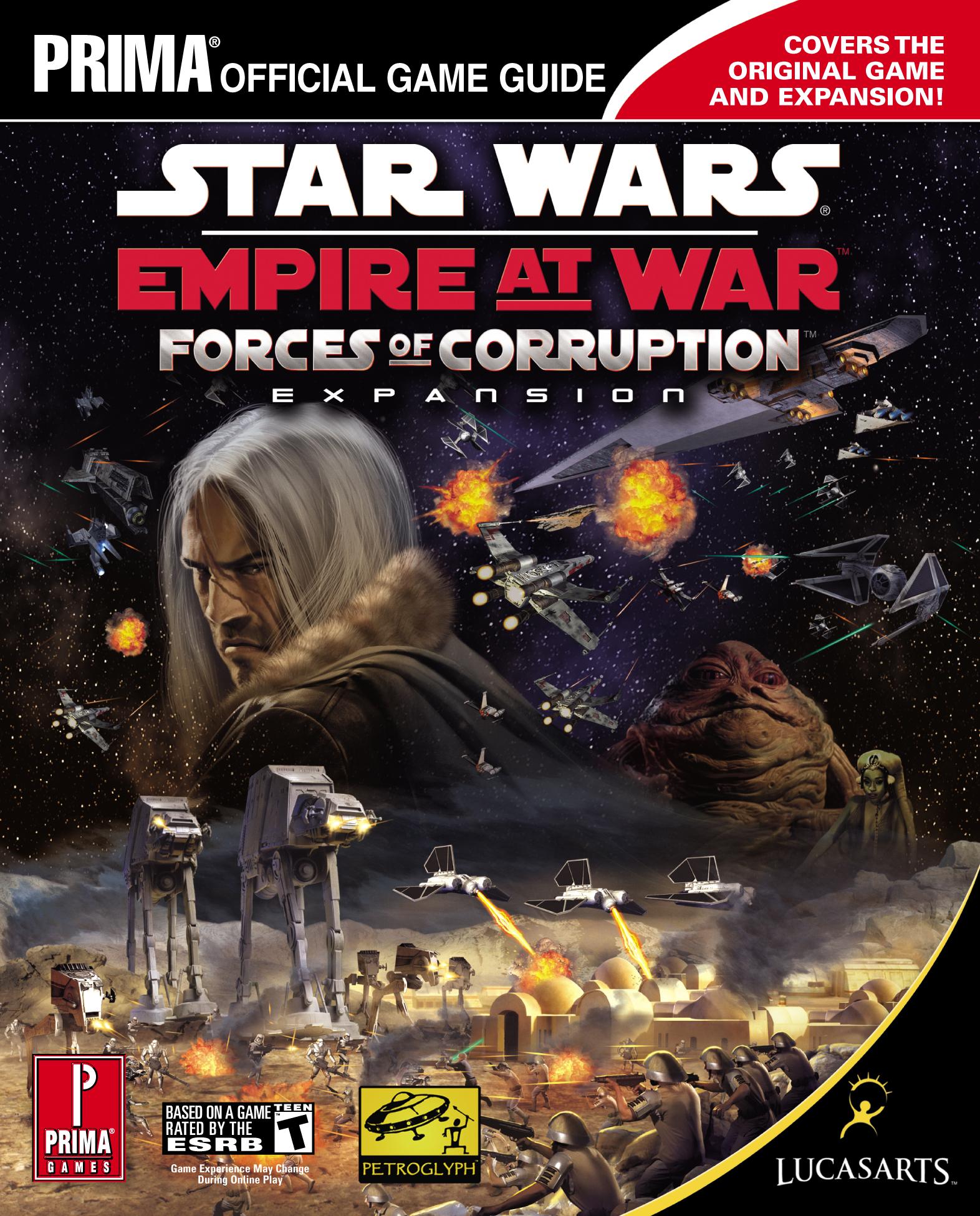 Star Wars: Empire at War: Forces of Corruption: Официальное игровое руководство Prima