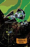 Imperial TIE interceptors poster RotJ3