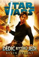 Heir to the Jedi Czech cover
