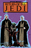 Force ghosts poster RotJ