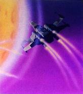 Thru around planet Electronic Battle Command