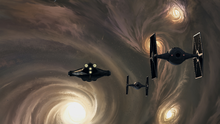 The Ghost approaches the star cluster.png