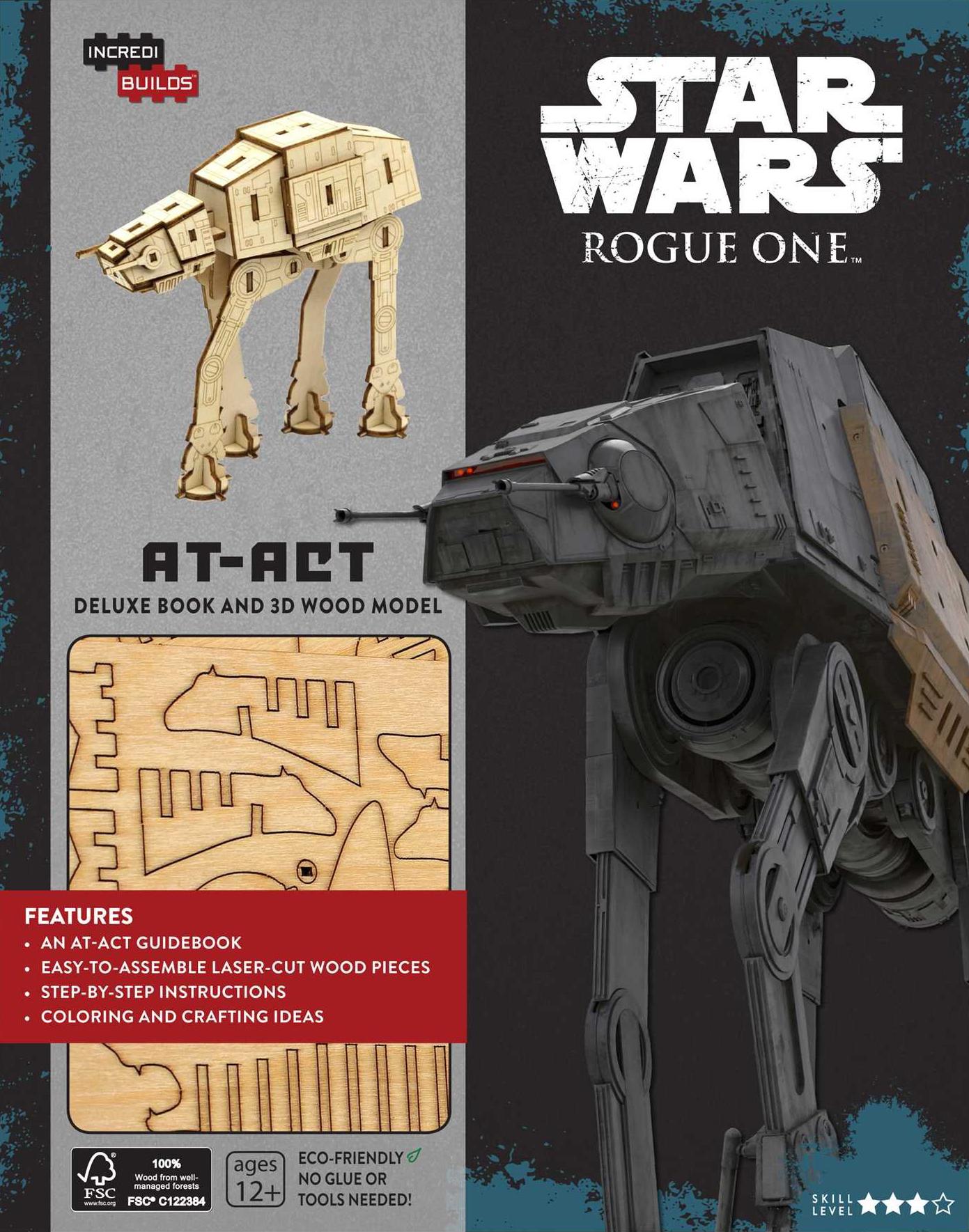 Звёздные войны. Изгой-один: Книга и трёхмерная модель AT-ACT