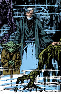 Yoda and Obi-Wan poster RotJ2