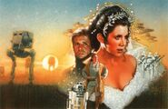 Courtship of Princess Leia cover art