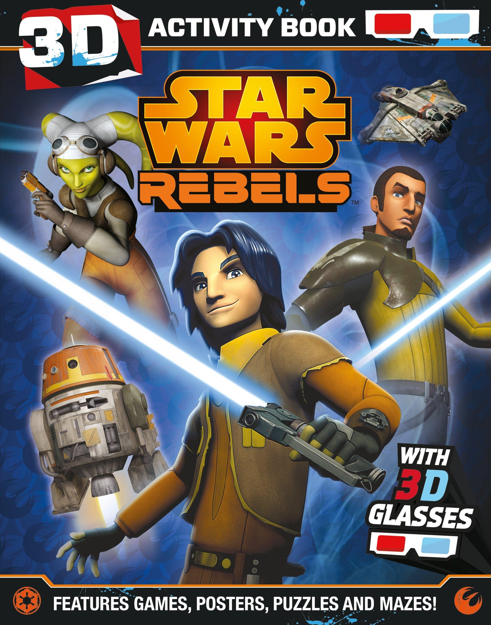 Звёздные войны. Повстанцы: Развивающая книга в 3D