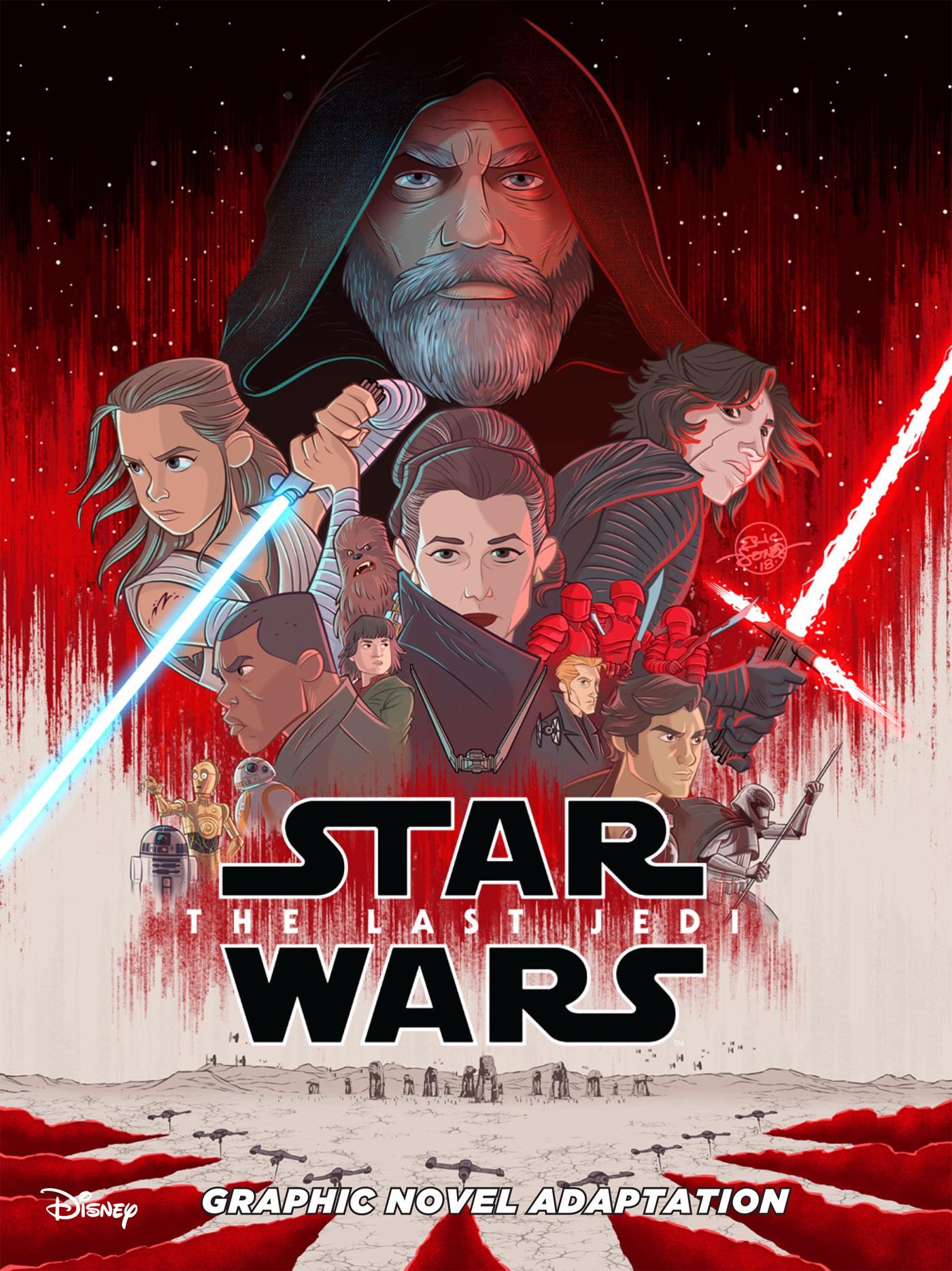Звёздные войны. Последние джедаи: Графический роман