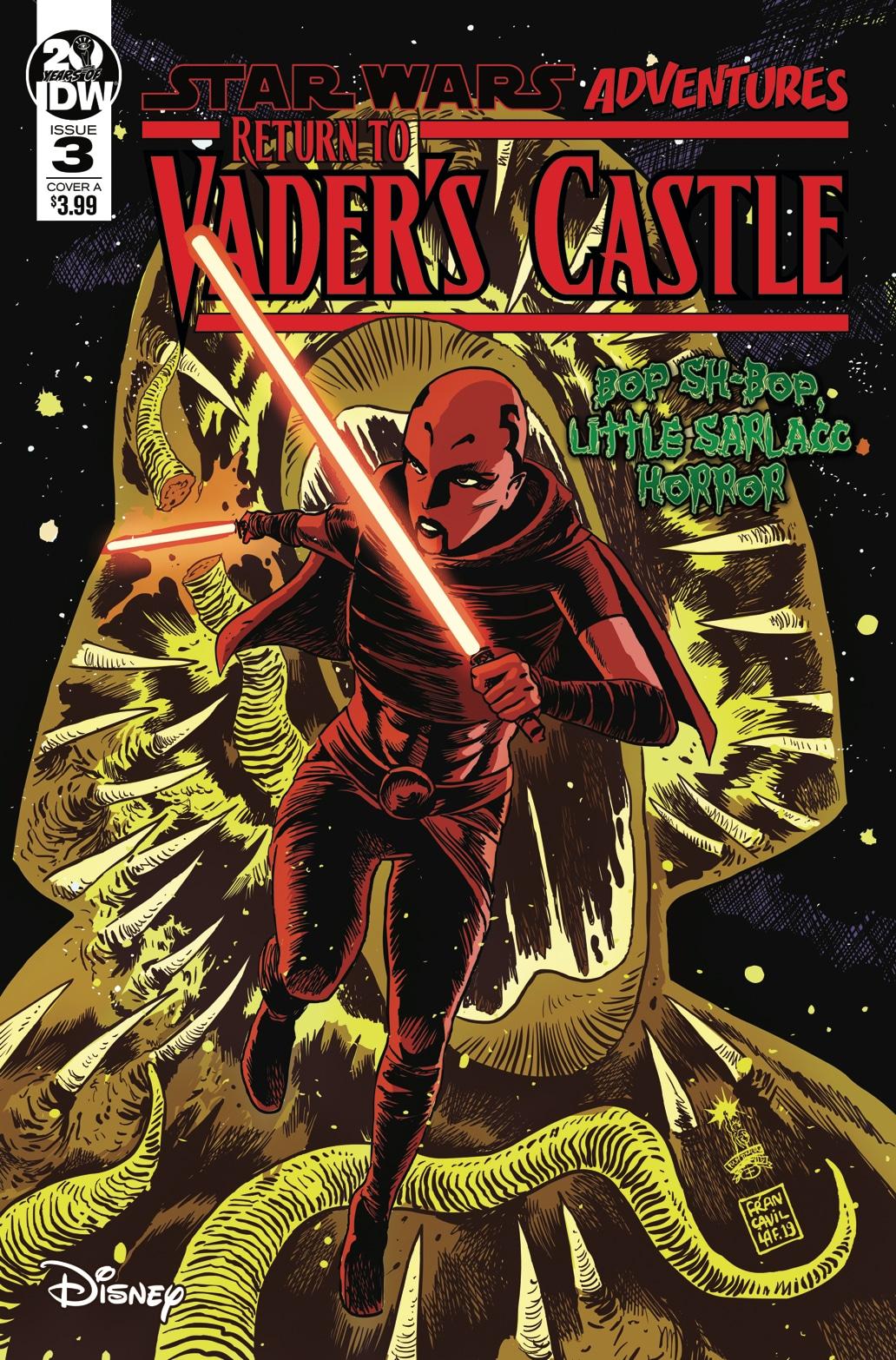 Возвращение в замок Вейдера 3: Маленькая страшилка с сарлакком