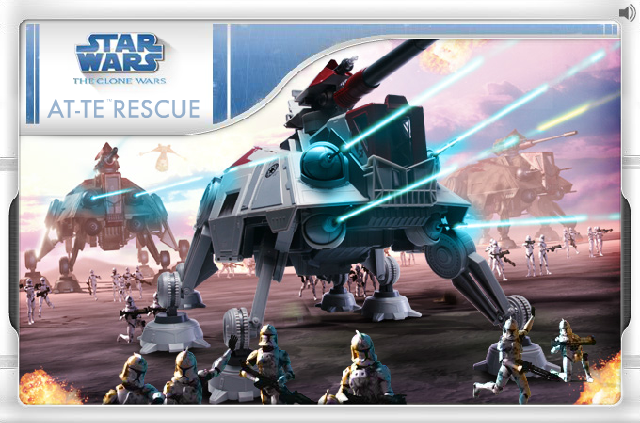 Star Wars: The Clone Wars: AT-TE Rescue
