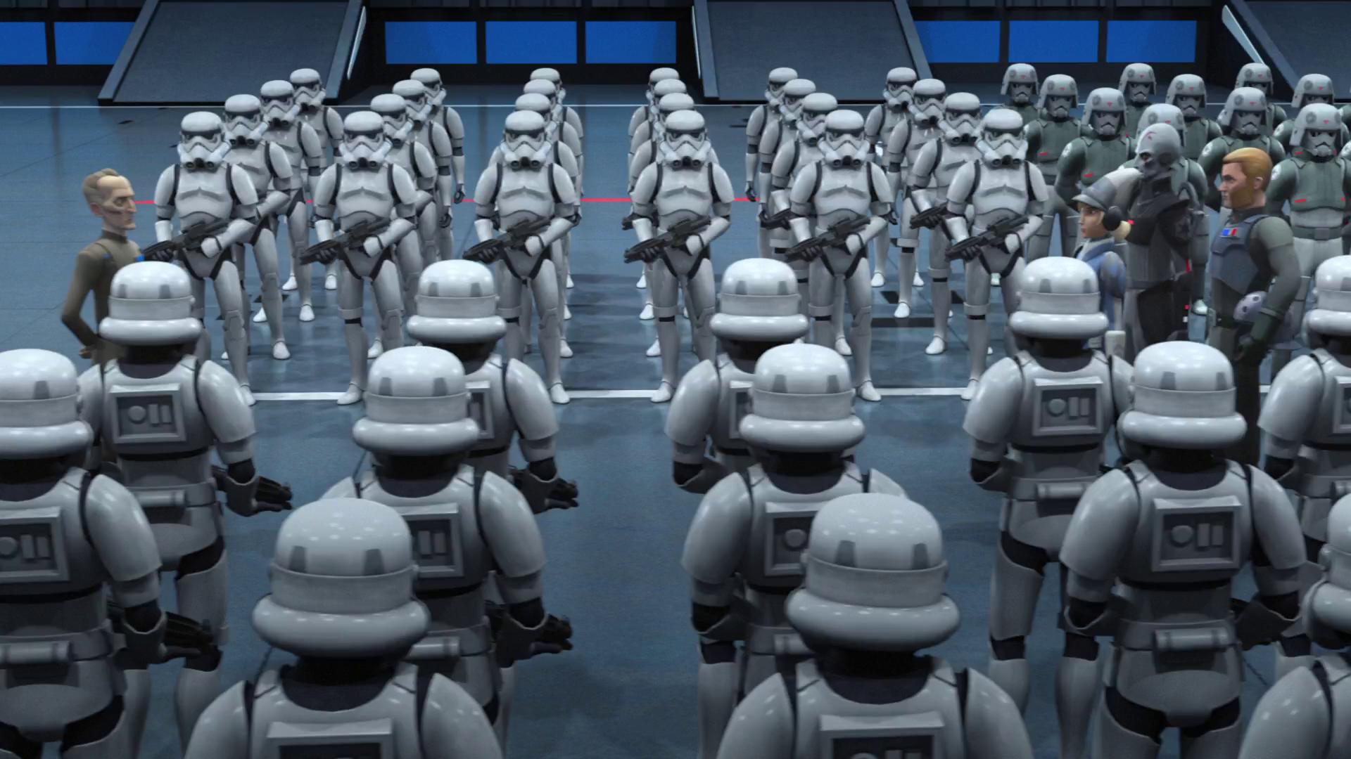 Имперский гарнизон Лотала