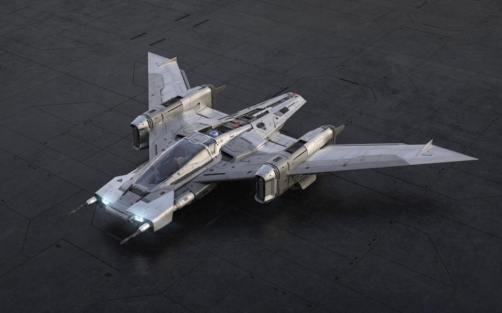 Звёздный истребитель S-91x «Tri-Wing» «Пегас»