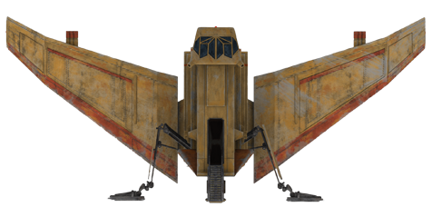 Лёгкий грузовой корабль YV-666/Канон