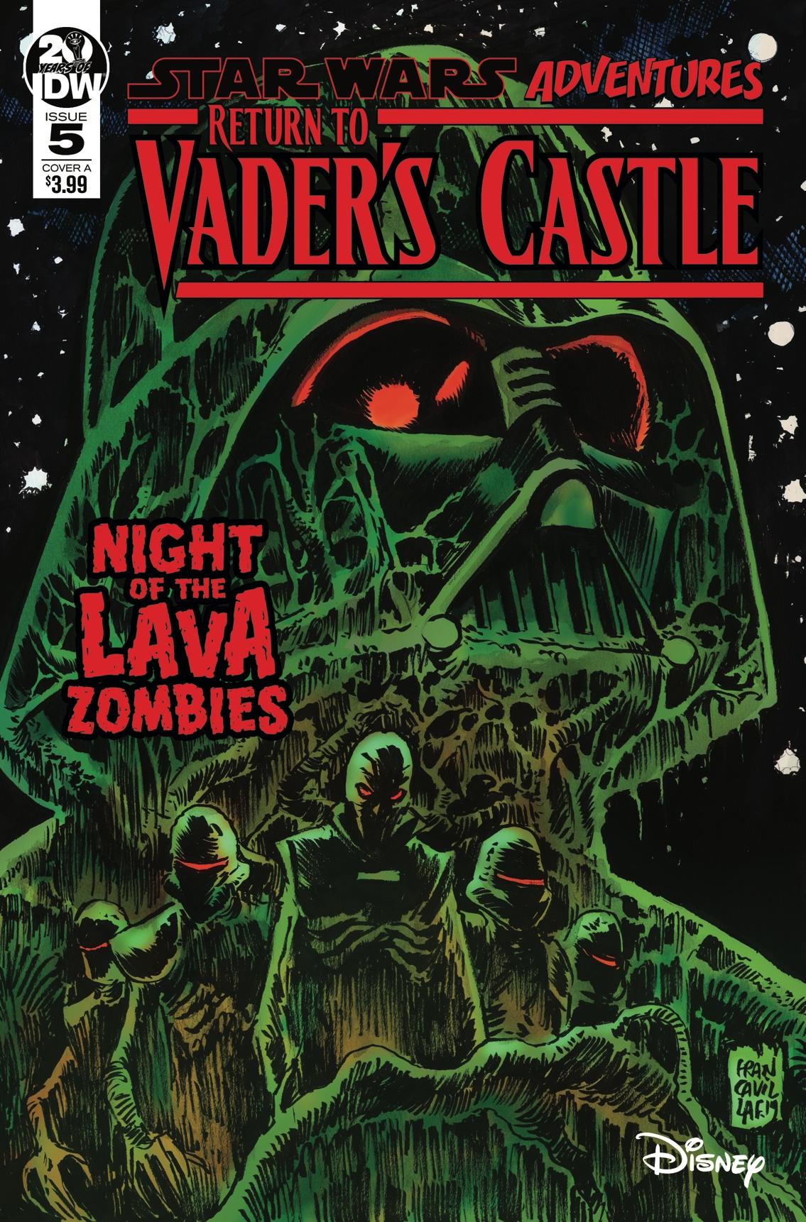 Возвращение в замок Вейдера 5: Ночь с лавовыми зомби