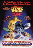 Star Wars Caps promotional SWGM3